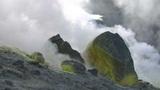Vulcano fumarole 04 Footage