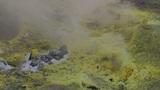 Vulcano fumarole close up 04 Footage