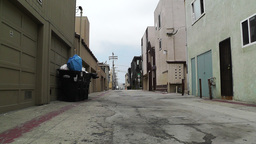Backstreet Alley 02 Stock Video Footage