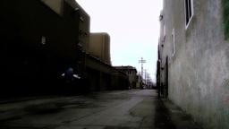 Backstreet Alley 03 stylized Stock Video Footage
