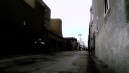 Backstreet Alley 03 stylized Footage