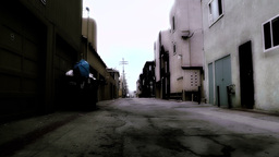 Backstreet Alley 04 stylized Footage