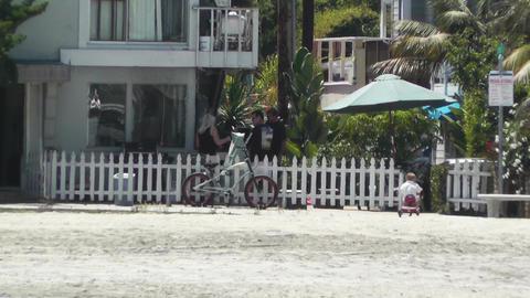 San Diego California 11 heat mirage Stock Video Footage
