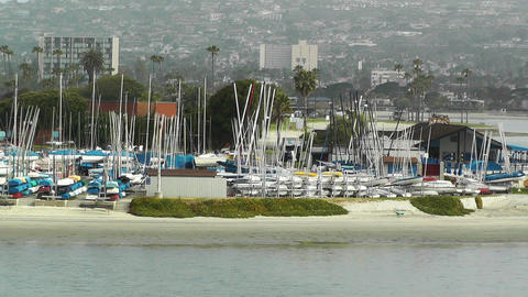 San Diego Mission Bay 05 Stock Video Footage