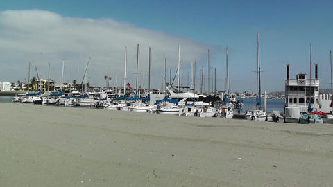 San Diego Mission Bay 14 Stock Video Footage