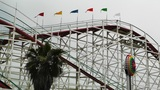 San Diego Mission Bay Amusement Park 03 rollercoaster Footage