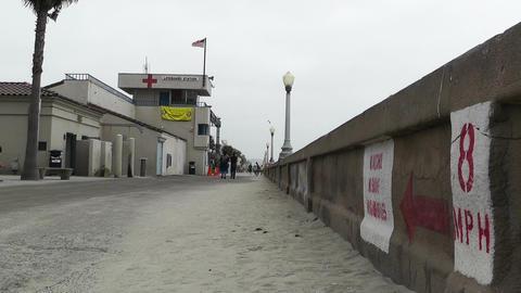 San Diego Mission Bay Beach 08 Stock Video Footage
