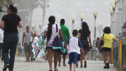 San Diego Mission Bay Beach 10 Stock Video Footage