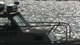 San Diego US Naval Base Security Guard Boat 03 Footage