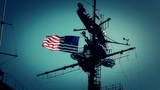 SSan Diego US Naval Base USS Midway Carrier 19 stylized Footage