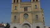 Panoramic of Qingdao Catholic Church Footage