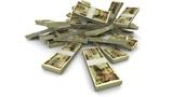 Falling 10000 Japanese Yen (JPY) Packs - Realistic Stock Video Footage