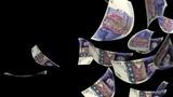 Falling Pounds (Loop + Matte) Animation