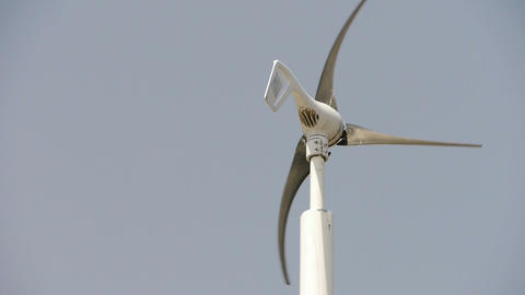 Wind turbine and new power energy Stock Video Footage