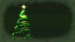 Christmas tree abstract CG動画素材