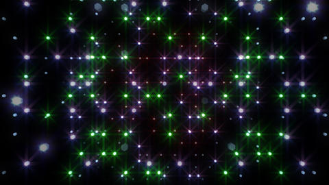 LED Light Space Hex 4r A 2 HD Animation