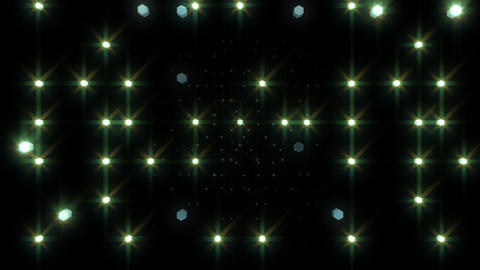LED Light Space Hex 4r B HD Animation