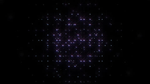 LED Light Space Hex 4s E HD Stock Video Footage