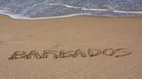 Paradise Beach Vacation in Barbados Footage