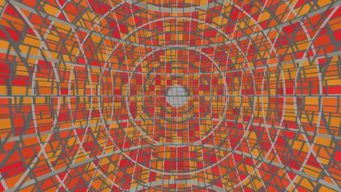 Technical kaleidoscope Stock Video Footage