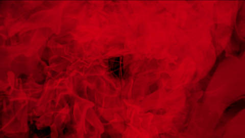 blood & plasma,splash red fluid & smoke Stock Video Footage
