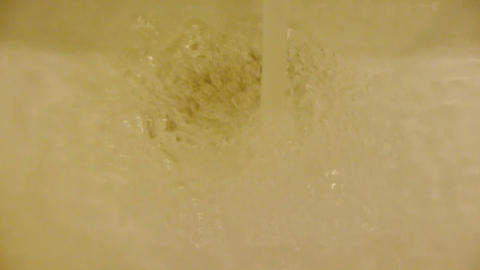 Spray foam hand basin,Bubble,Wash hands at Luxurious... Stock Video Footage