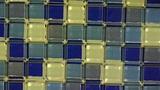 Panoramic of Mosaic wall Footage