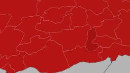 Batman - Turkey region extruded. Solids Animation