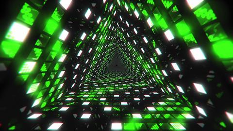 VJ Loop Green Tunnel 2 Animation