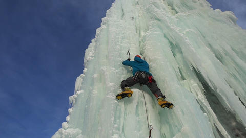 Ice Climber Footage