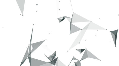 White plexus background Animation