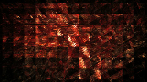 red lattice on black background Stock Video Footage