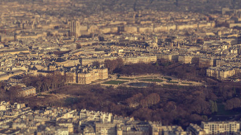 Paris, France - Timelapse - The Jardin du Luxembourg Footage