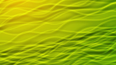Green and yellow curved lines video animation Animation
