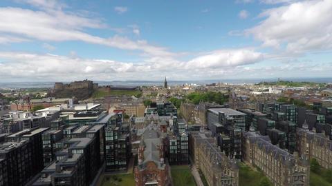 Edinburgh Aerial Footage Footage