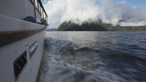Boat cruising by Island Footage