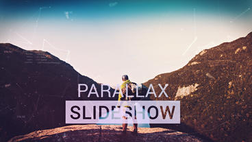 Parallax Slideshow After Effects Project
