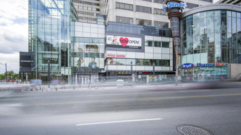 Toronto, Canada - Timelapse - Shopping Mall Footage