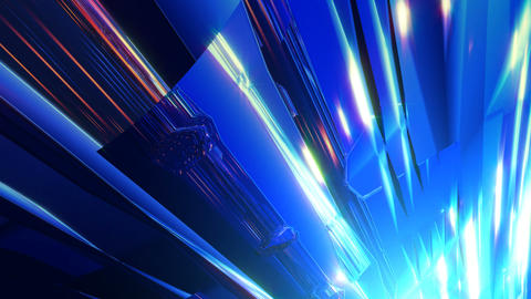 Abstract metal CG動画