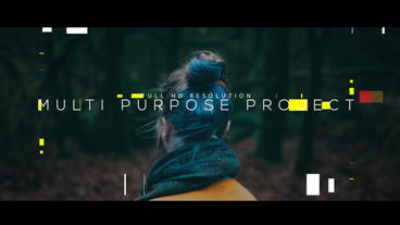 Fashion Promo ME After Effects Project