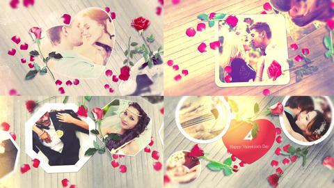Fond Memories - Romantic Slideshow After Effectsテンプレート