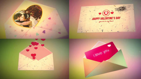 Happy Valentine's Day - Envelope After Effects Template