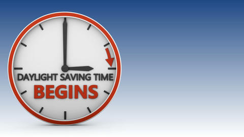 Daylight saving time 01 Animation
