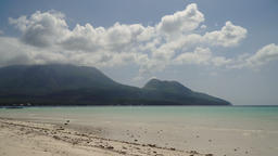Beautiful beach on tropical island.Camiguin, Philippines Footage