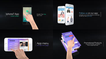 Iphone 7 Presentation Kit After Effects Template
