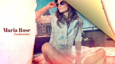 Torn Fashion Plantilla de After Effects