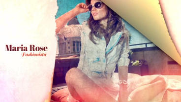 Torn Fashion After Effects Template