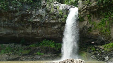 Waterfall in jungle of Selva Negra Live Action