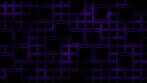 Abstract Tiled Background and Light Animation - Loop Purple Animation