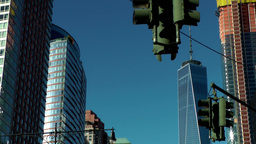 New York City 432 Manhattan financial district West Street world trade center Footage